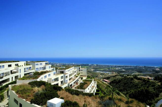 View to coast