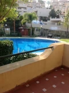 Terrace to pool