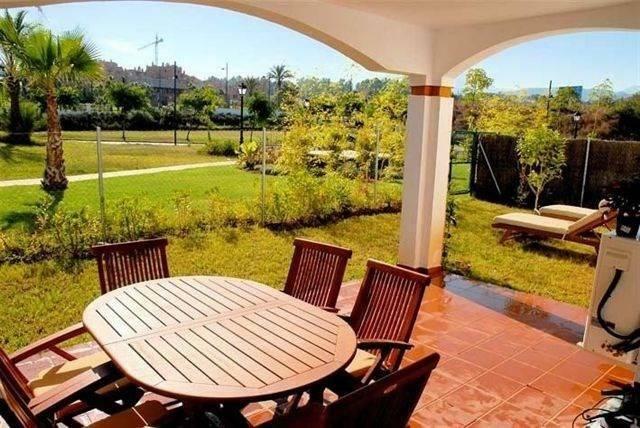 Terrace ground floor