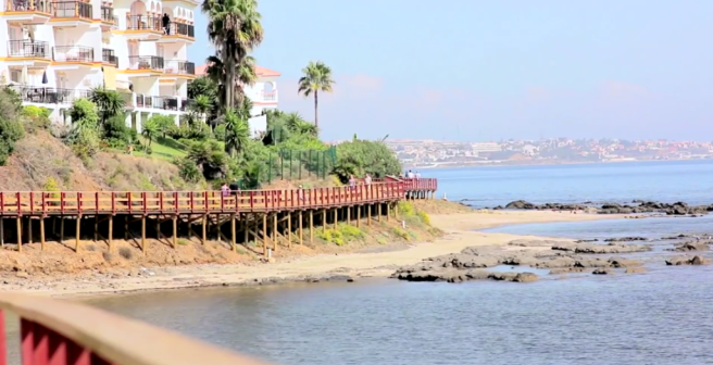 Beach and Paseo