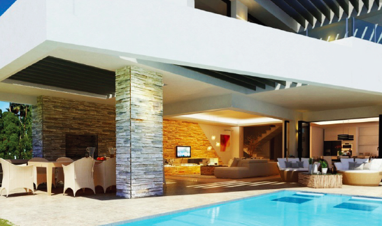 Pool and interior