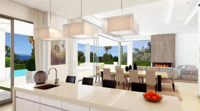 Kitchen to lounge