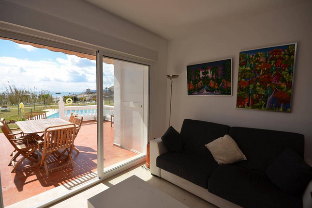 Lounge sea views
