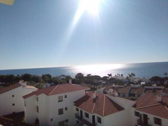 Stunning sea views!