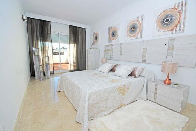 Massive master suite