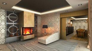 Lounge/ fireplace