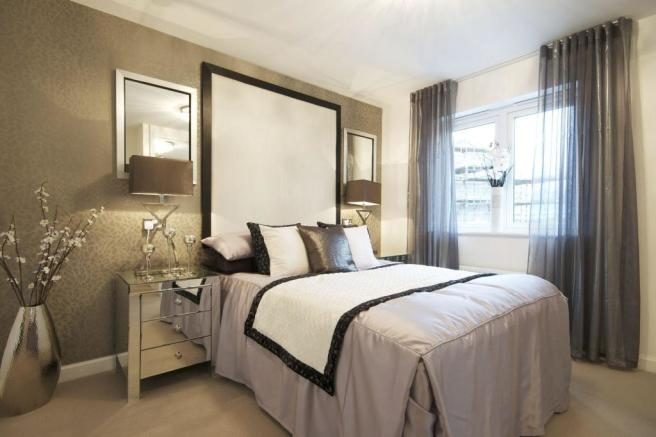 Banchory master bedroom