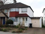semi detached house in Groveland Avenue...