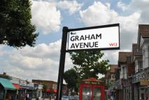 3 bed house in Graham Avenue...
