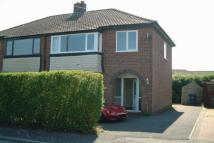 semi detached property to rent in Barn Croft, Penwortham...