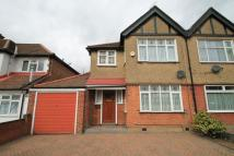 semi detached house in Parkside Way...