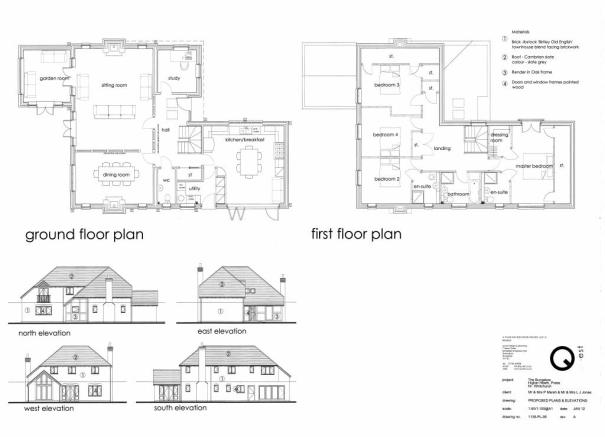 Proposed floorplans