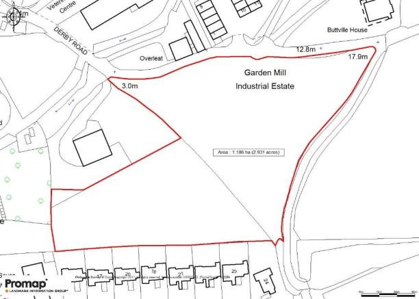 Plan of the site