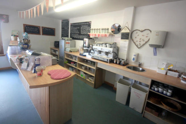 Cafe counter