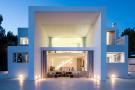 Facade modern Villa Gertrudis Ibiza
