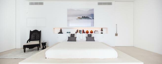 Bedroom master ensuite bathroom Villa Gertrudis Ibiza