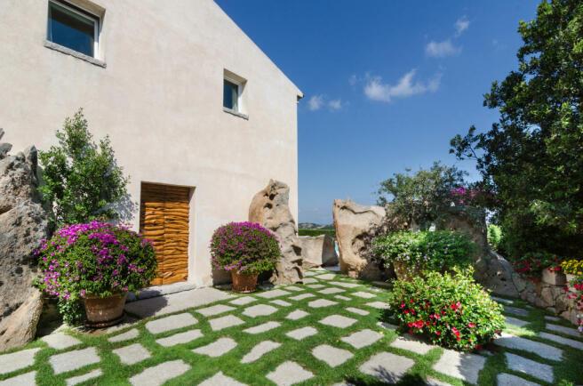 Courtyard Villa Cassedda Porto Cervo Sardinia