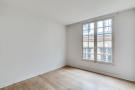 Bedroom wood floor white Quincampoix Paris
