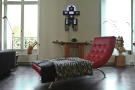 Living room parquet flooring wood Etoile Avenue President Wilson Paris