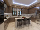 Kitchen marble stone modern Venus Rock Golf Resort Imperial Residences Cyprus