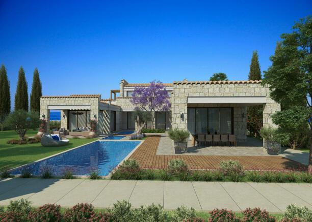 Facade swimming pool garden Venus Rock Golf Resort Imperial Residences Cyprus