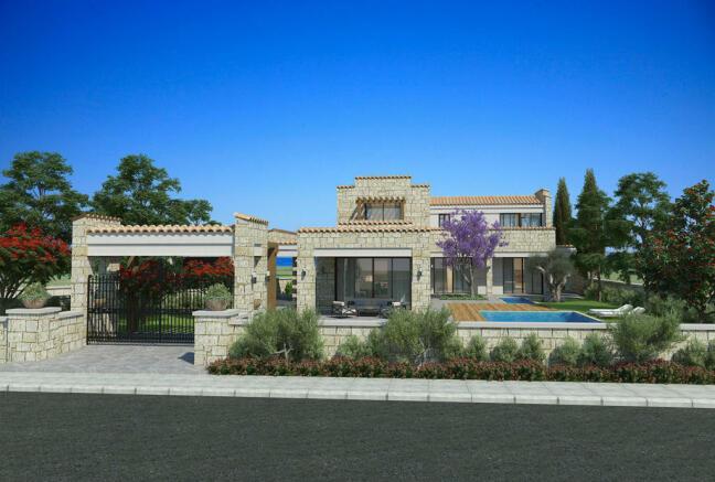 Facade Venus Rock Golf Resort Imperial Residences Cyprus
