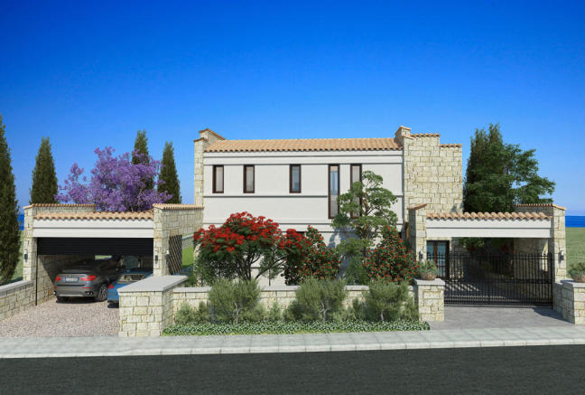 Facade garage Venus Rock Golf Resort Imperial Residences Cyprus