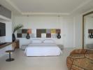 Bedroom stone floor Billionaire Resort Kenya