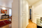 Hallway wood floor Rue Jean Mermoz Paris