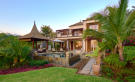 Facade rear swimming pool Villas Valriche Mauritius