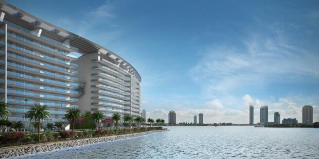 Bayfront facade Echo Aventura Miami Florida