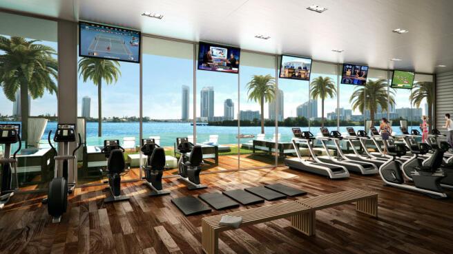 Gym Echo Aventura Miami Florida