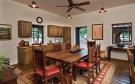 Kitchen dining room wood floor South Mill Ranch Arizona