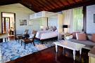Bedroom master wood floor Four Seasons Seychelles