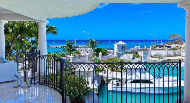 Penthouse view Port Ferdinand Barbados