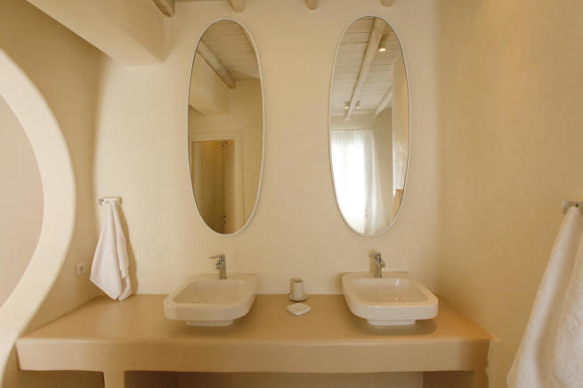 Bathroom twin sink Fanari Mykonos