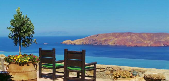 View ocean sea Lia Mykonos