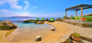Swimming pool ocean sea view Lia Mykonos