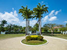 Driveway Sand Box at Sandy Lane Barbados