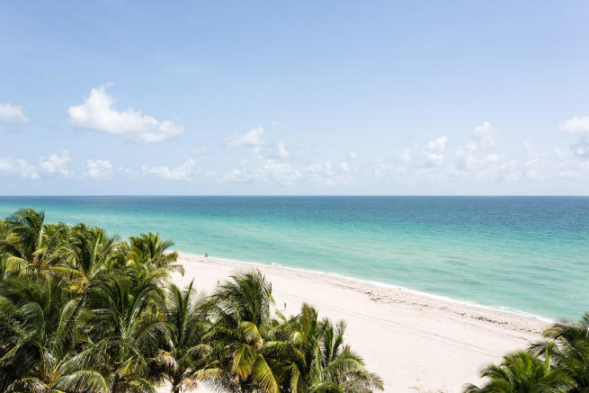 Beach ocean sea view Regalia Miami Florida