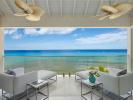 Balcony covered terrace sea ocean view Villa Bonita Barbados