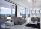 Living room kitchen breakfast bar stone floor sliding doors Westmoreland Hills Barbados