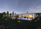 Villa rear facade swimming pool sun terrace Westmoreland Hills Barbados