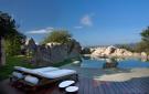 Rockpool decking sun terrace Villa Ross Sardinia