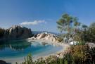 Swimming pool rock garden Villa Ross Sardinia