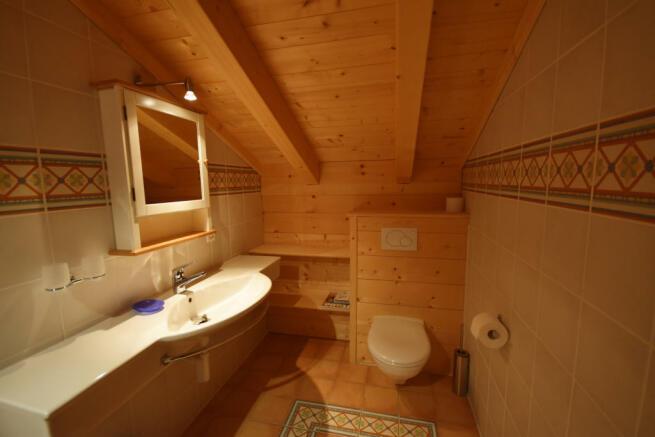 Bathroom sink Chalet Idée Fixe Champoussin Champéry