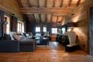 Living room stone floor Chalet Masson Verbier