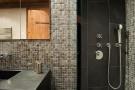 Bathroom shower stone tiled Chalet Masson Verbier