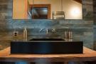 Bathroom sink stone Chalet Masson Verbier