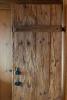 Wood door Chalet Masson Verbier